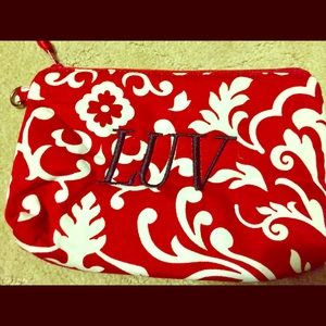 Thirty one mini zipper pouch red Parisian Pop New